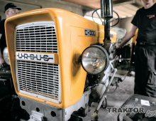 Montaż przedniego napędu do ciągnika Ursus C330